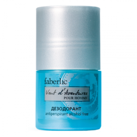 Дезодорант-антиперспирант для мужчин «Vent d'Aventures» Faberlic