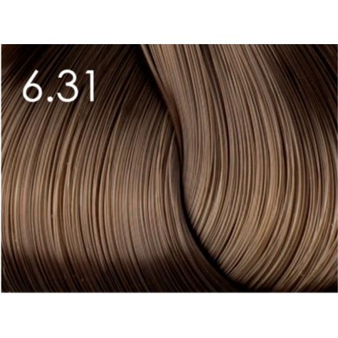 Стойкая крем-краска для волос «Шелковое окрашивание» без аммиака Faberlic тон Золотисто-коричневый 6.31