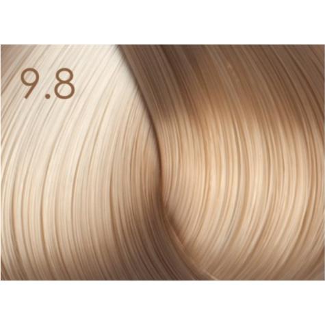 Стойкая крем-краска для волос «Шелковое окрашивание» без аммиака Faberlic тон Жемчужный блонд 9.8