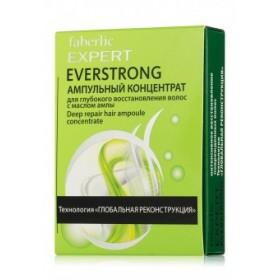 Ампульный концентрат для глубокого восстановления волос «Everstrong» Faberlic