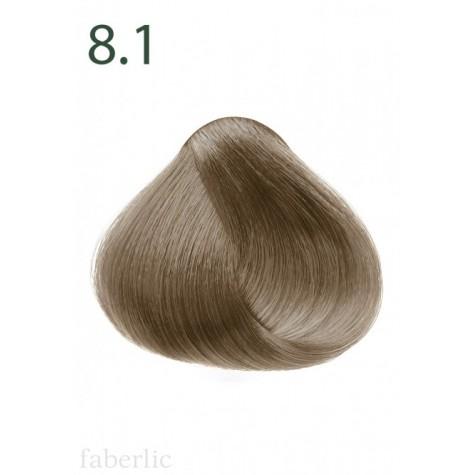 Стойкая питательная крем-краска для волос «Botanica» Faberlic тон Пепельный блонд 8.1