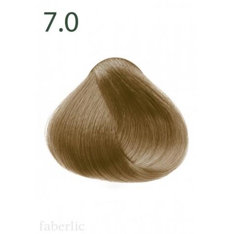 Стойкая питательная крем-краска для волос «Botanica» Faberlic тон Оливковый блонд 7.0