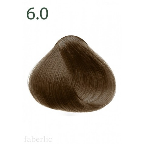 Стойкая питательная крем-краска для волос «Botanica» Faberlic тон Лесной орех 6.0