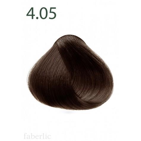 Стойкая питательная крем-краска для волос «Botanica» Faberlic тон Шоколадный каштан 4.05