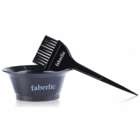 Набор для окрашивания волос Faberlic (емкость+кисточка)