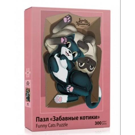 Пазл «Забавные котики» Faberlic